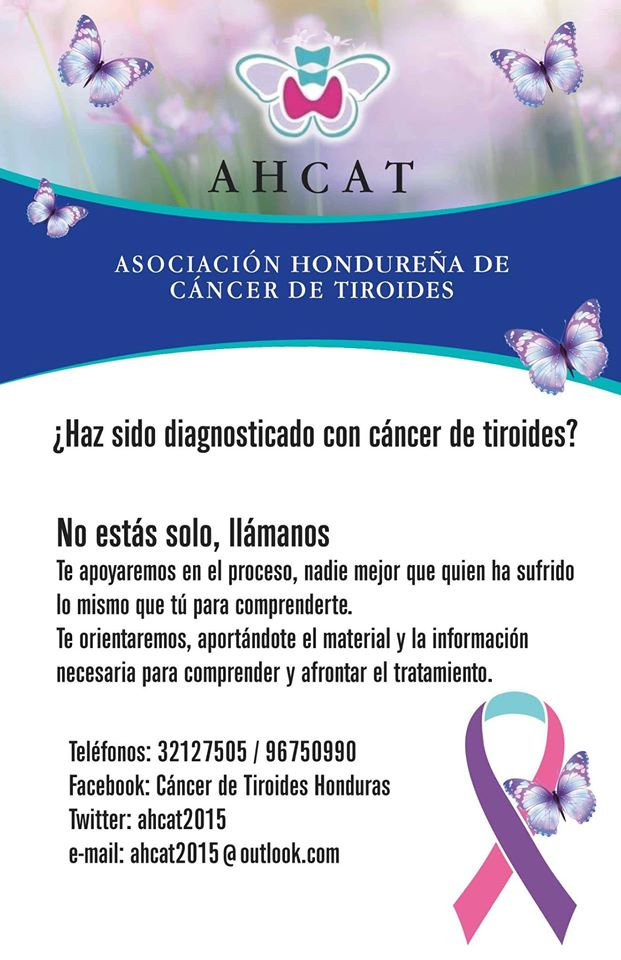 thyca ahcat honduras support group thyca thyroid cancer